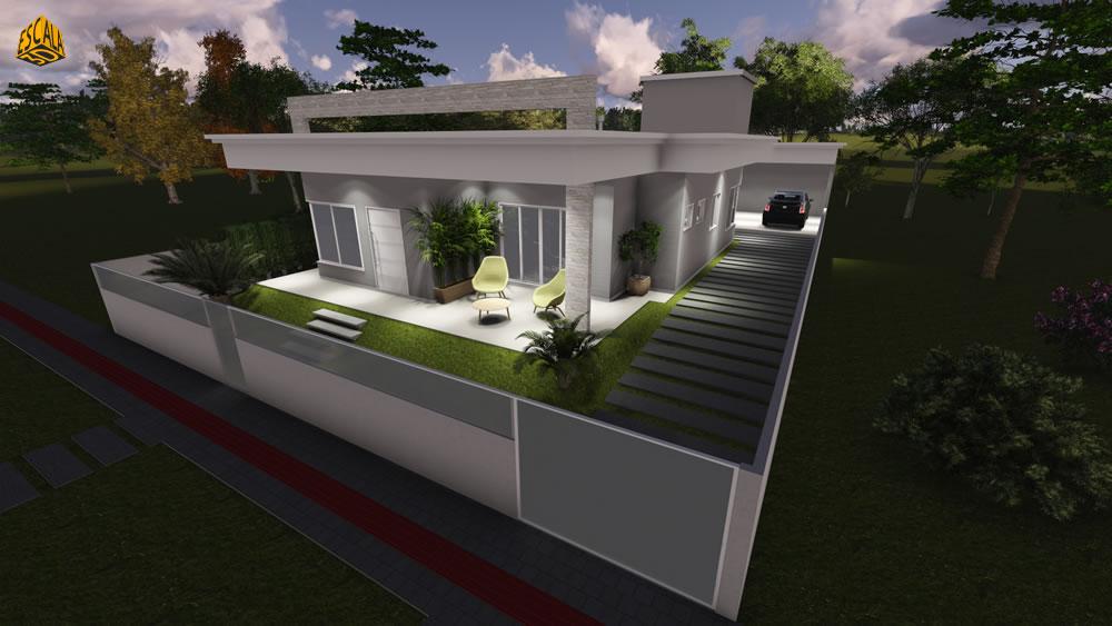Casa Térrea 3D