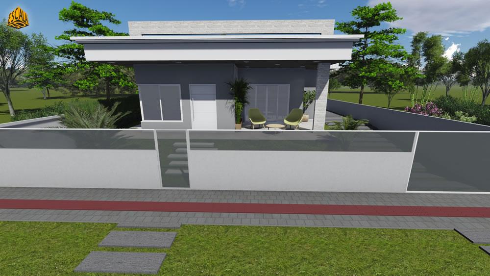 Casa Térrea Fachada
