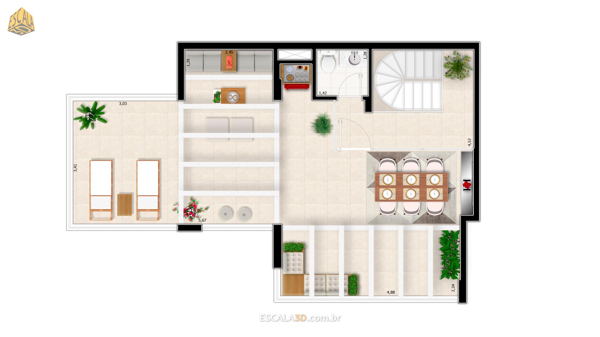 Cobertura Duplex Pavimento 2