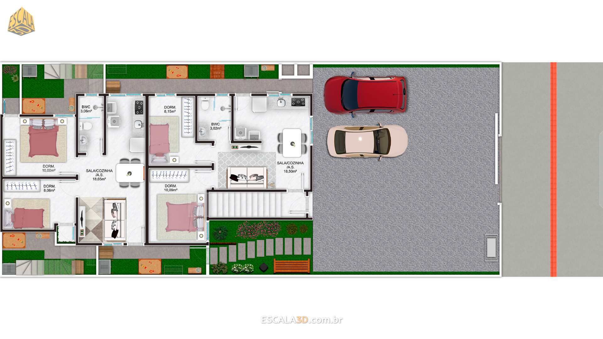 Apartamentos Térreos