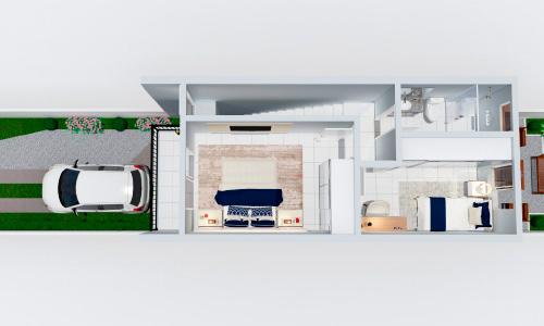 Portfólio de Planta Perspectivadas 3D Casas